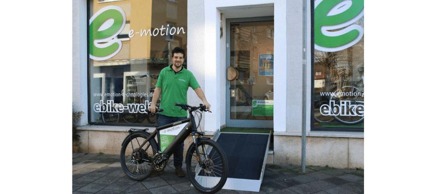 Am 01.02. eröffnete unsere e-motion e-Bike Welt in Worms.