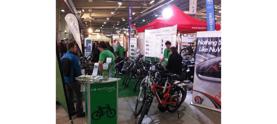 e-motion e-Bike Premium-Shop Köln auf der Cycolonia Messe 2012