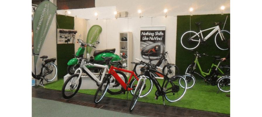 e-Bike Experten e-motion Hannover wieder mit einem Stand auf der ABF Freizeitmesse