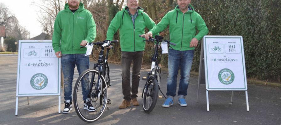 Mitarbeiter e-Bike-Shop