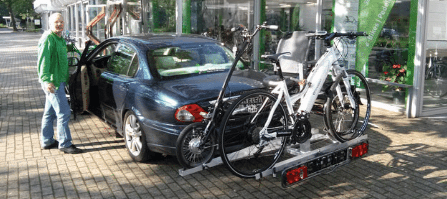 e-Bike Heckträger-Auto-7