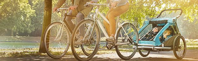e-Bike Anhänger für Kinder als Zubehör