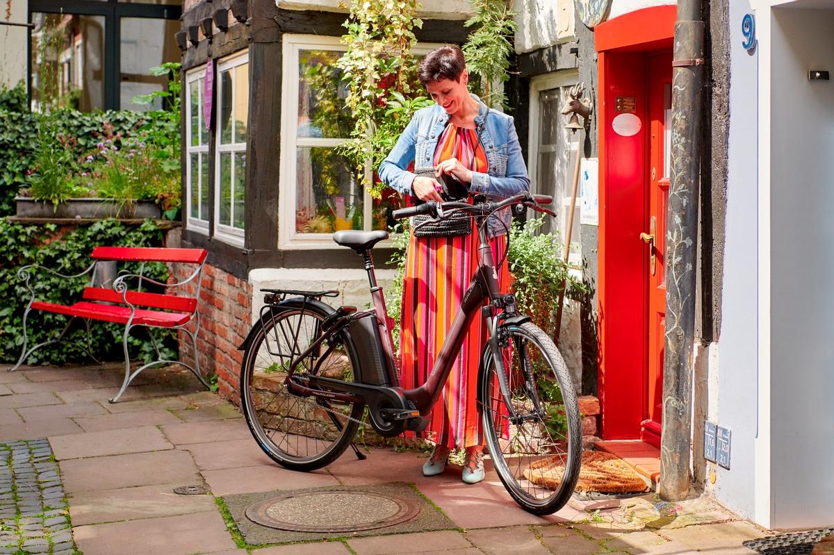 Raleigh Corby City e-Bike Damen