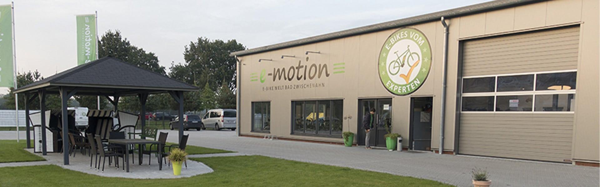Der Shop der e-motion e-Bike Welt Bad Zwischenahn