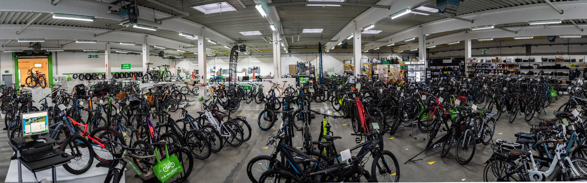 Der Shop  des e-motion e-Bike Premium-Shop Velbert