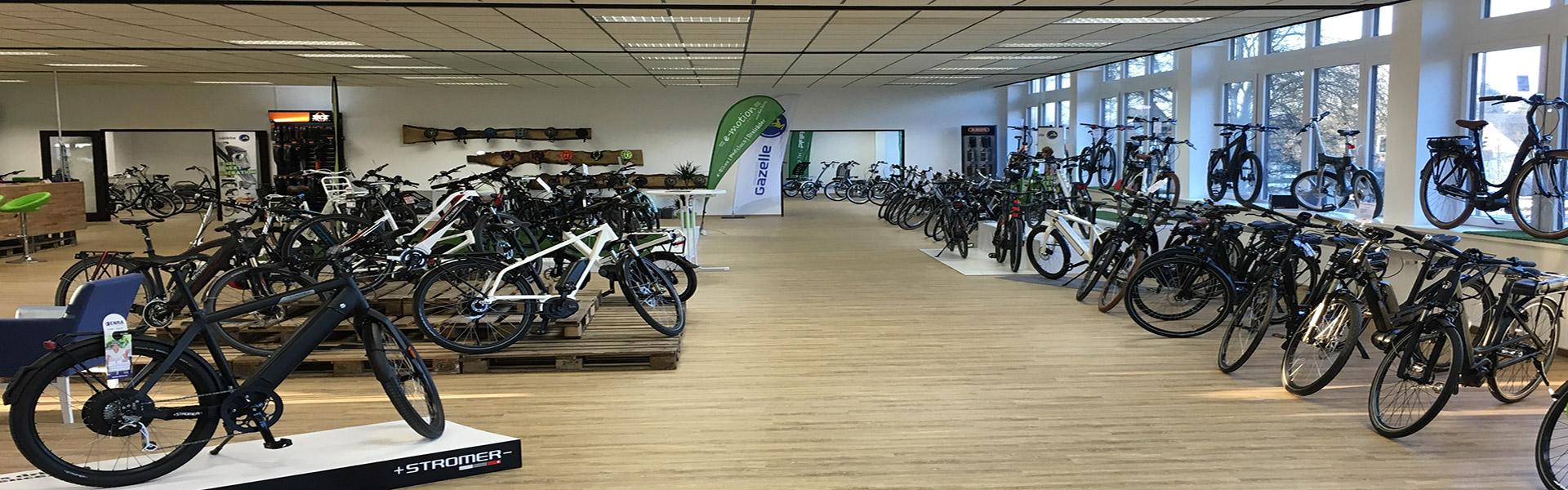 Der Shop der e-motion e-Bike Welt Bielefeld