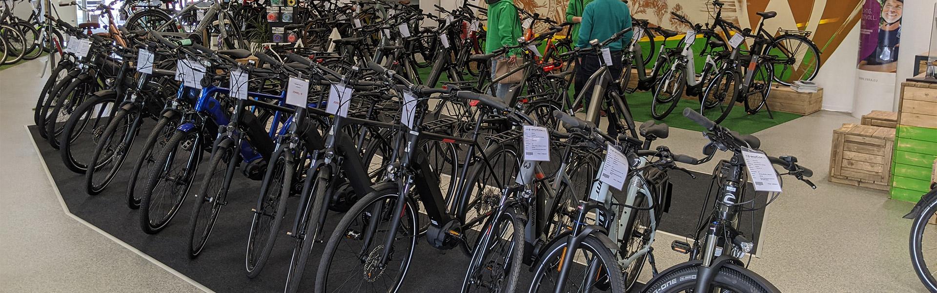 Das Team der e-motion e-Bike Welt Bremen