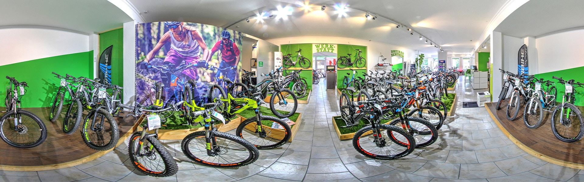 Der Shop der e-motion e-Bike Welt Frankfurt