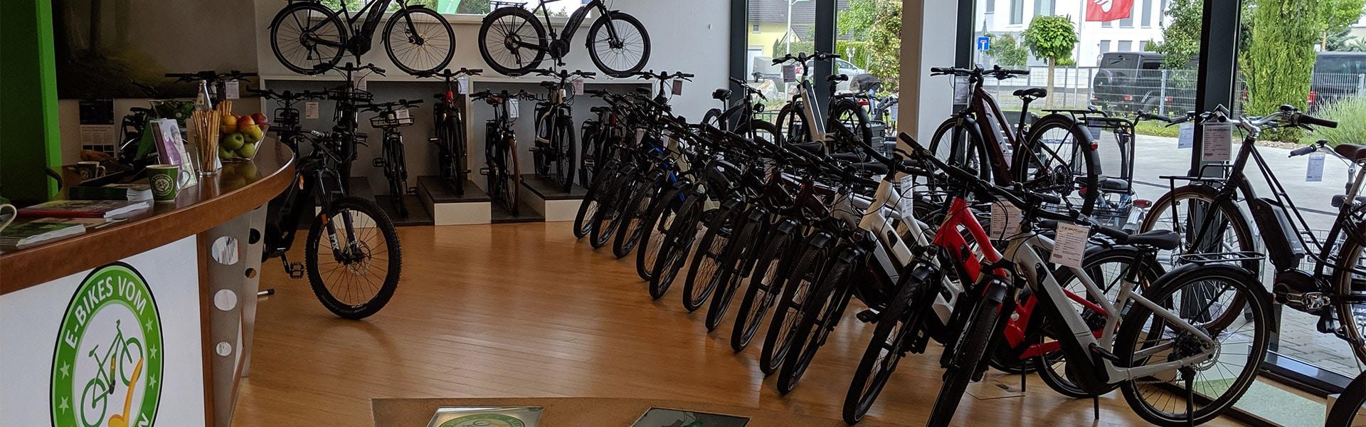 Der Shop der e-motion e-Bike Welt Freiburg Süd
