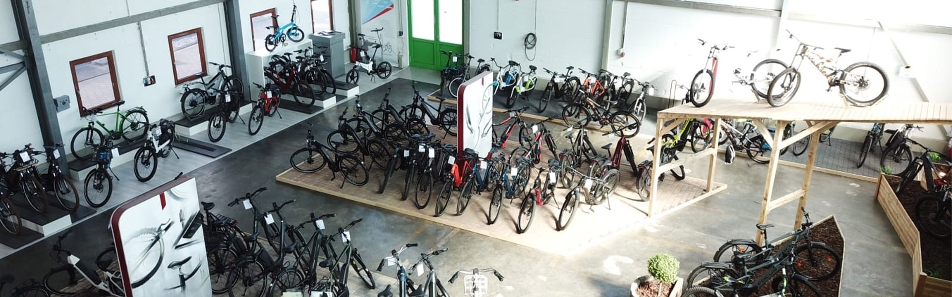 Der Shop der e-motion e-Bike Welt Hamburg