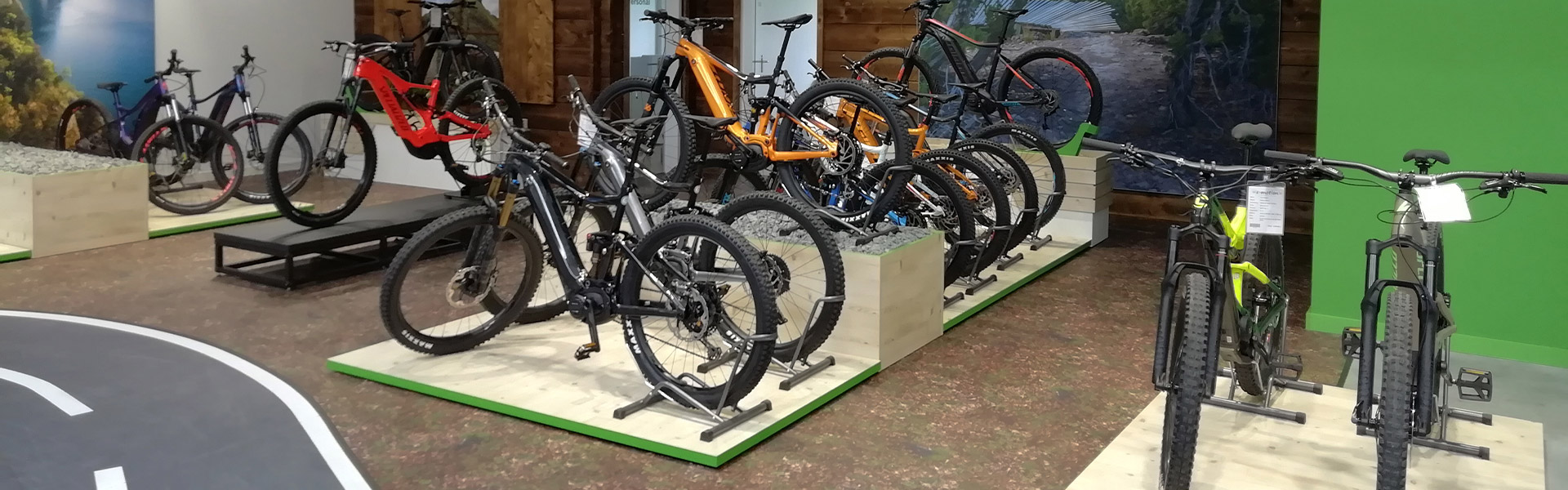 Der Shop der e-motion e-Bike Welt Hanau