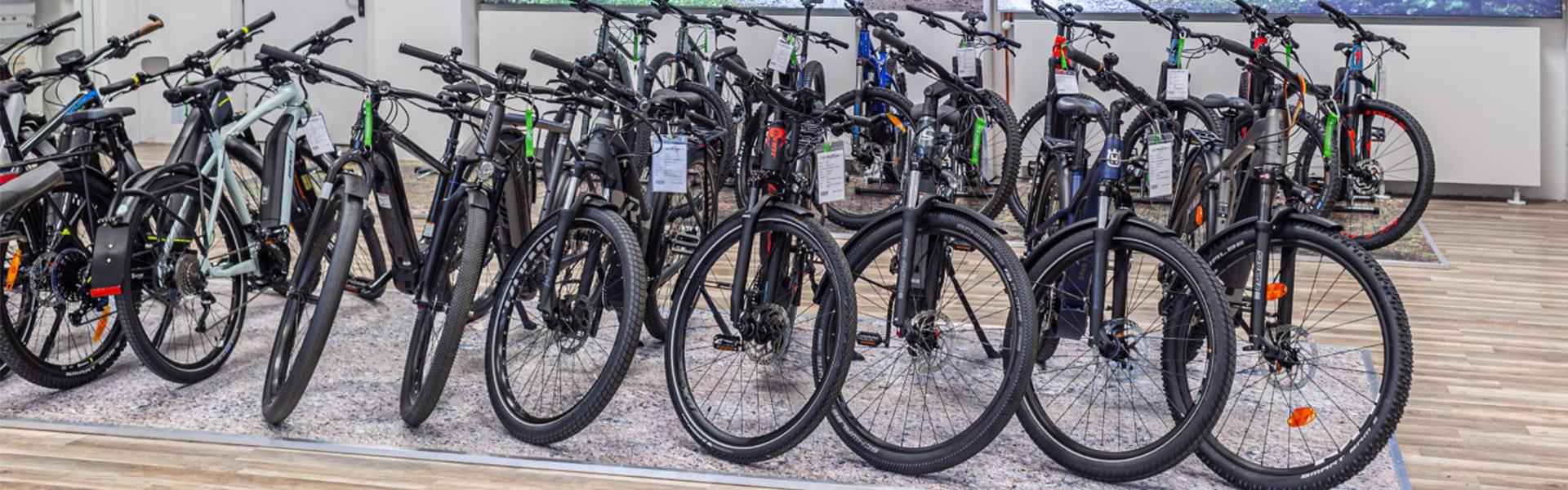 Der Shop der e-motion e-Bike Welt Moers