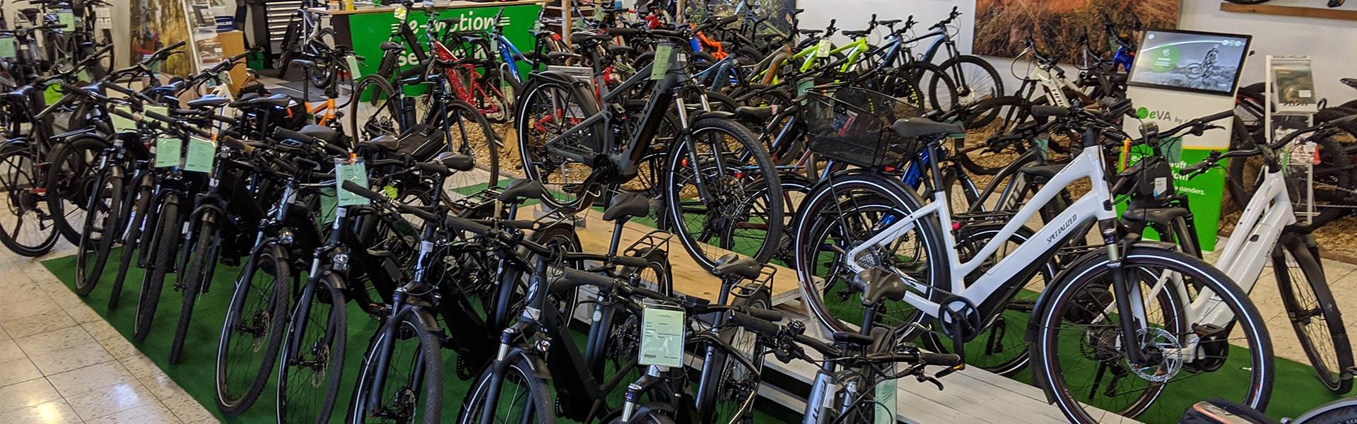 Der Shop der e-motion e-Bike Welt Ravensburg