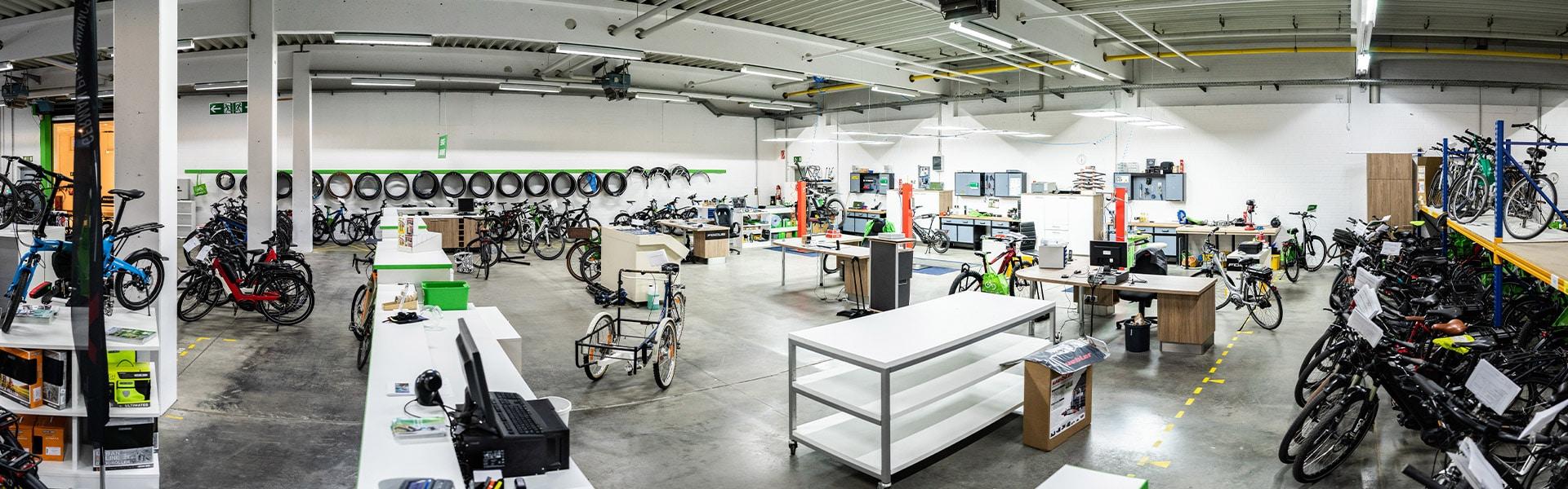 Der Shop des e-motion e-Bike Premium-Shop Velbert
