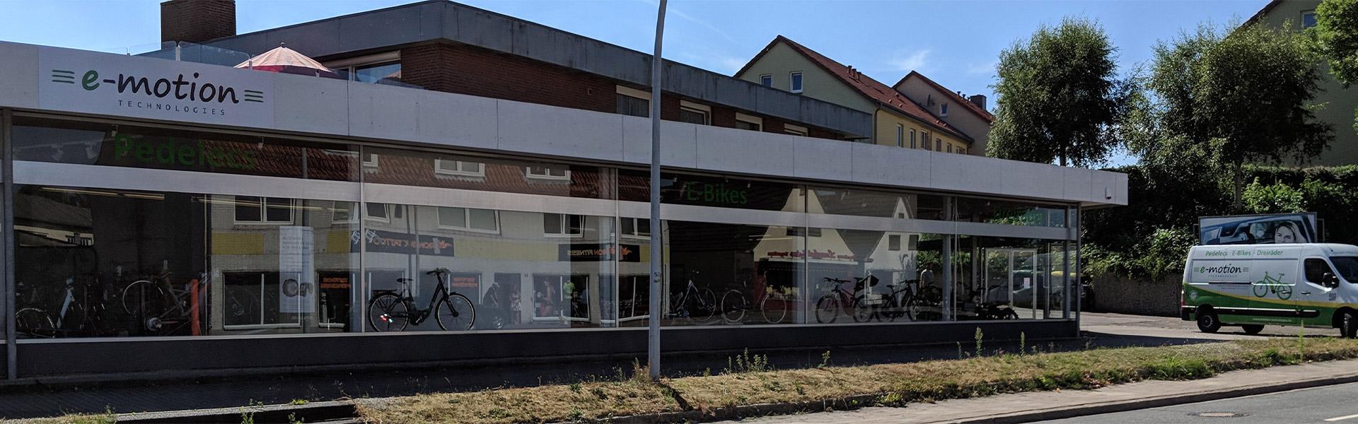 Der Shop der e-motion e-Bike Welt Schleswig