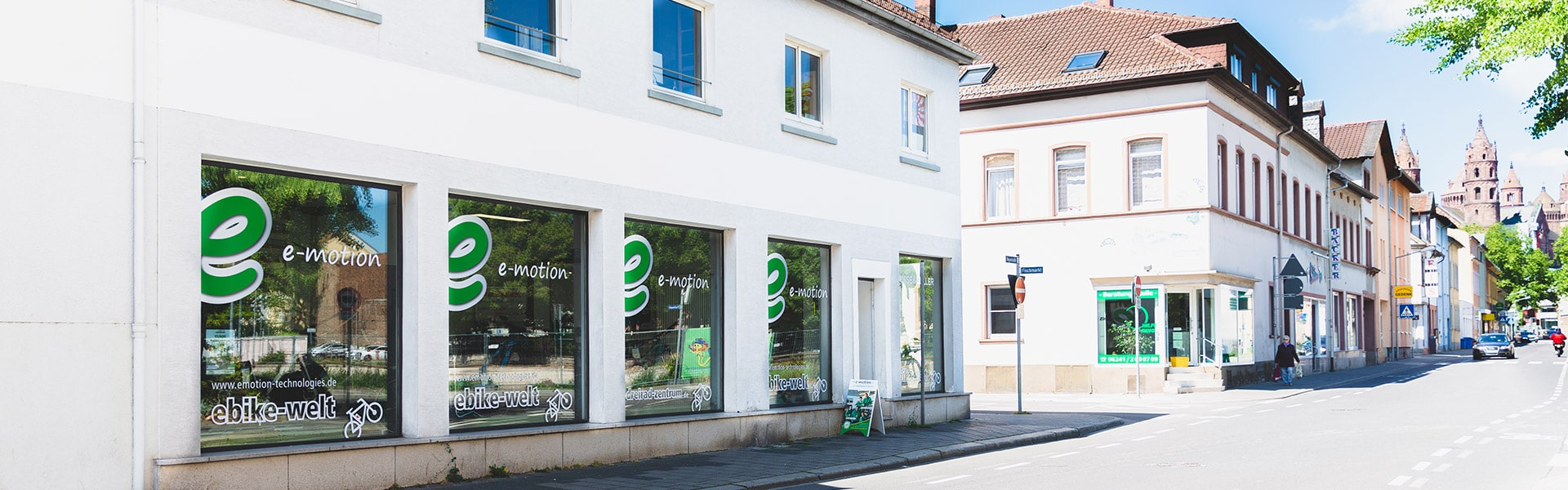Der Shop der e-motion e-Bike Welt Worms