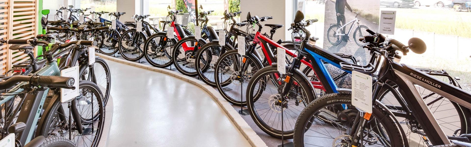 Der Shop der e-motion e-Bike Welt Aarau Ost