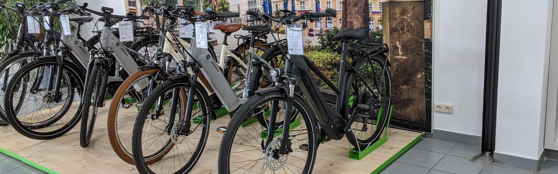 Der Shop der e-motion e-Bike Welt Muenchberg