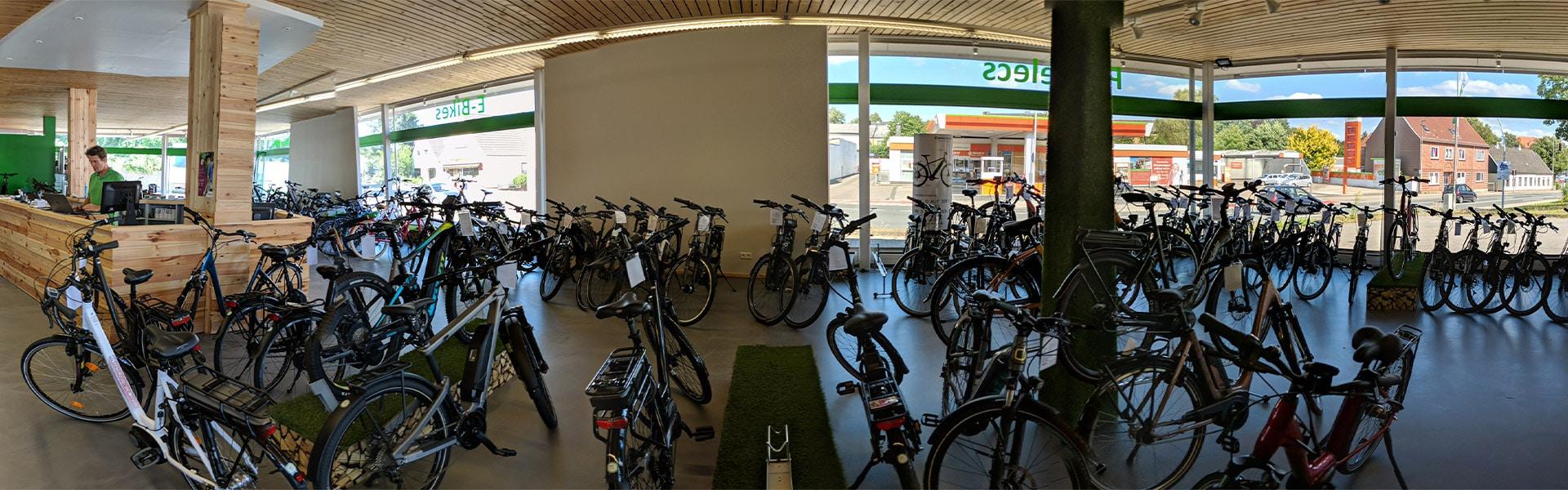 Der Shop der e-motion e-Bike Welt Schlewsig