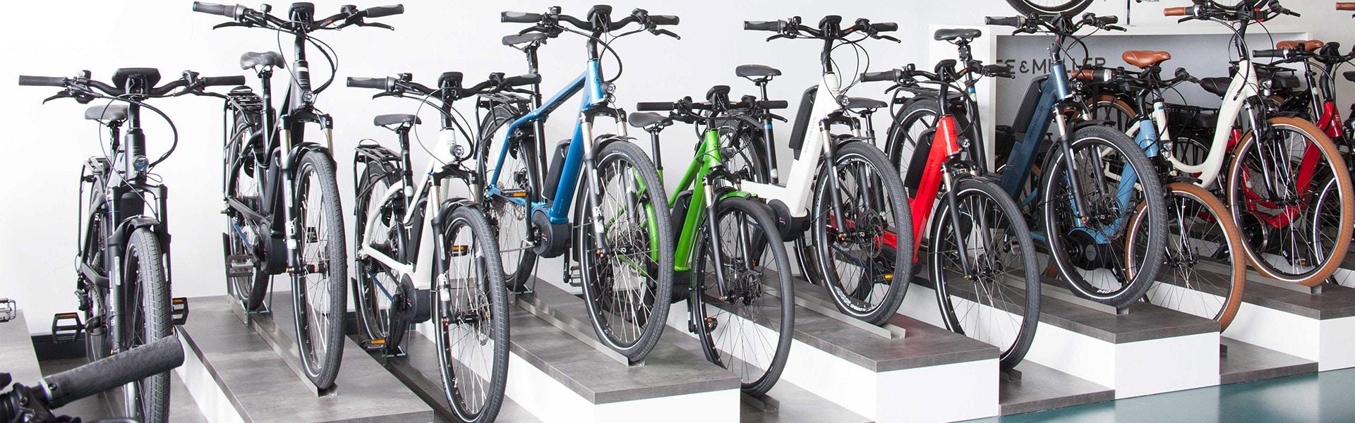 Der Shop der e-motion e-Bike Welt Ulm