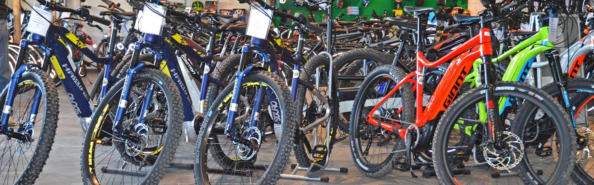 Der Shop des e-motion e-Bike Premium-Shop Würzburg
