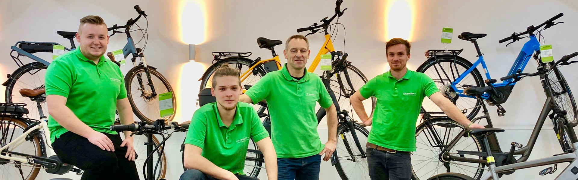 Das Team der e-motion e-Bike Welt Braunschweig