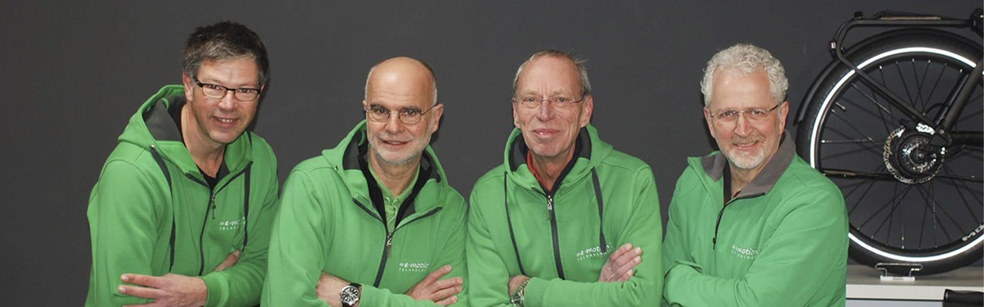 Das Team der e-motion e-Bike Welt Hamm