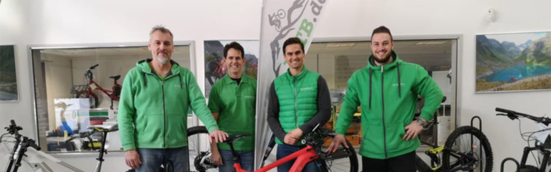 Das Team der e-motion e-Bike Welt München West