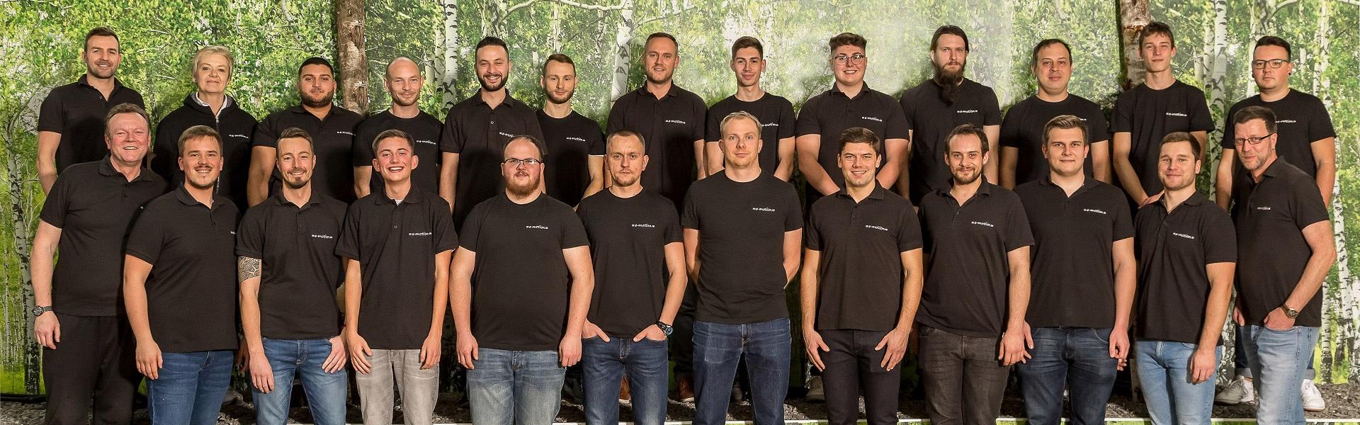 Das Team der e-motion e-Bike Welt Nürnberg