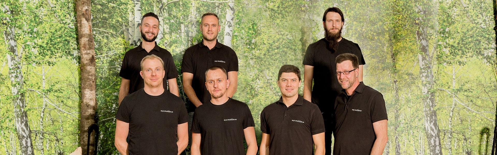 Das Team der e-motion e-Bike Welt Nürnberg West