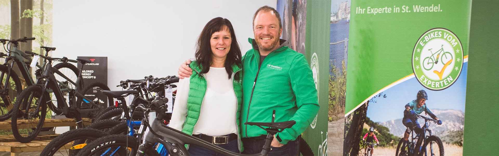 Das Team der e-motion e-Bike Welt Sankt Wendel