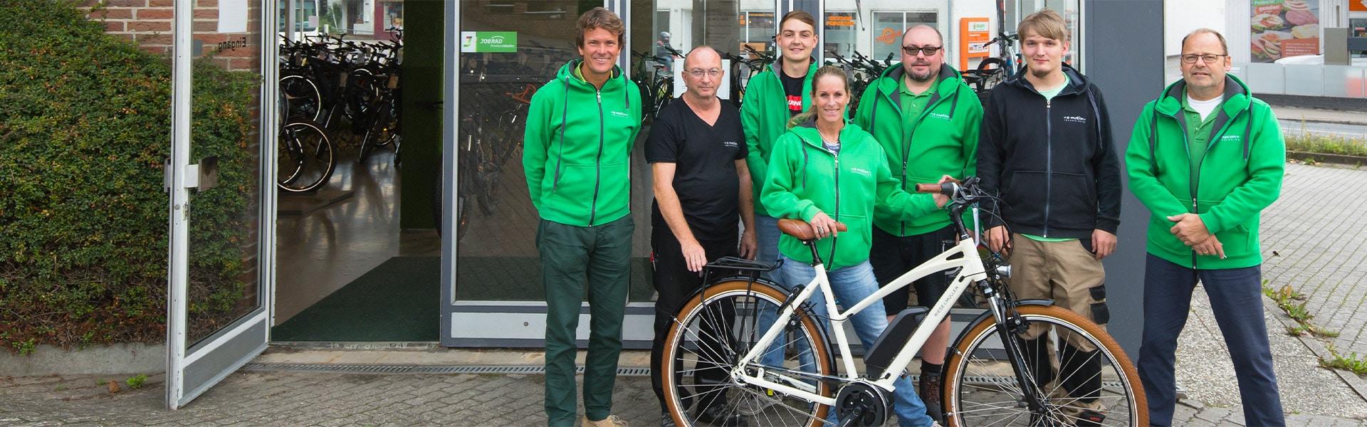 Das Team der e-motion e-Bike Welt Schleswig