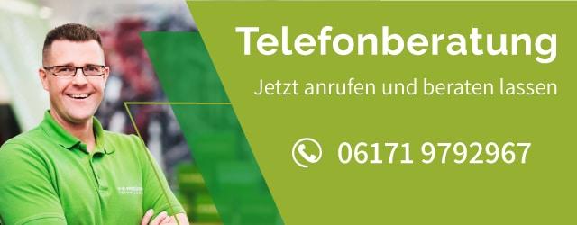 Banner zur e-Bike Telefonberatung in Frankfurt: und unverbindlich beraten lassen