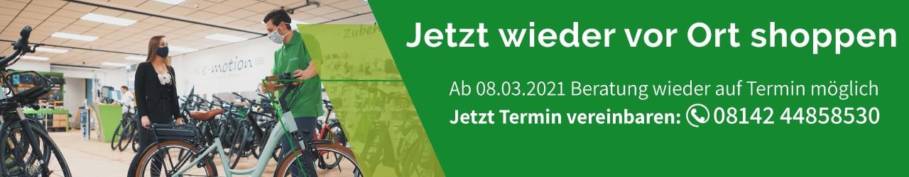 e-Bike Beratung in München West wieder möglich - Jetzt Termin sichern