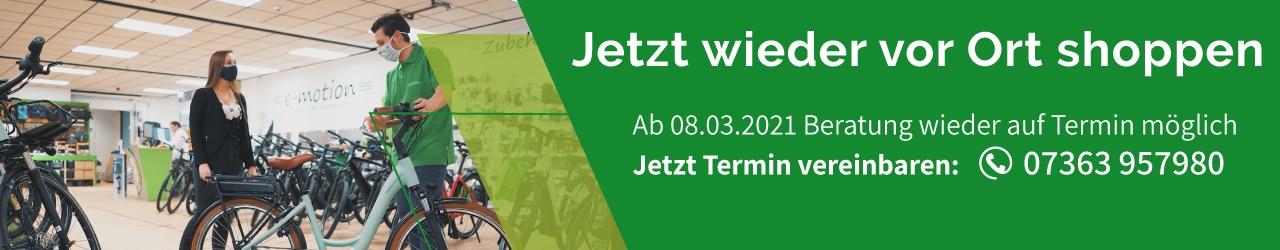 e-Bike Beratung in Westhausen wieder möglich - Jetzt Termin sichern