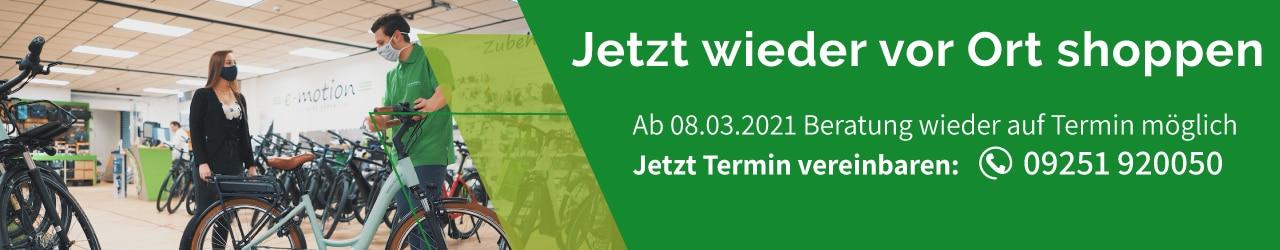 e-Bike Beratung in Münchberg wieder möglich - Jetzt Termin sichern