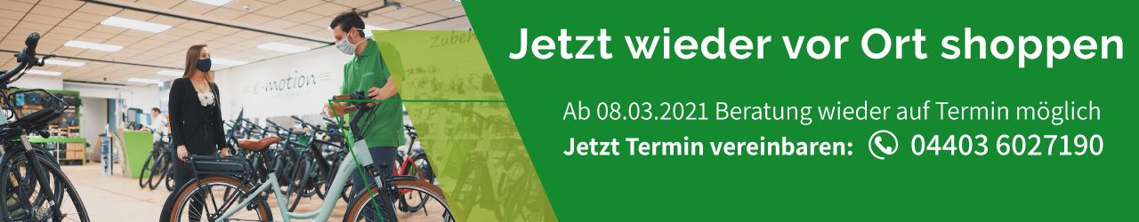 e-Bike Beratung in Bad Zwischenahn wieder möglich - Jetzt Termin sichern