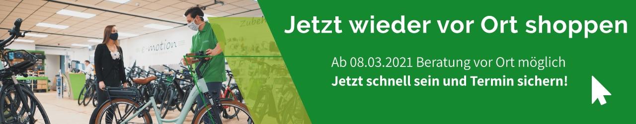 e-Bike Beratung in Bielefeld vor Ort wieder möglich