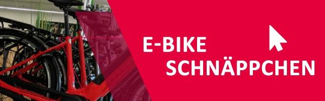 e-Bike Schnäppchen in deinem e-motion e-Bike Shop sichern