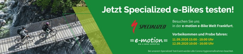 Specialized Event in Frankfurt