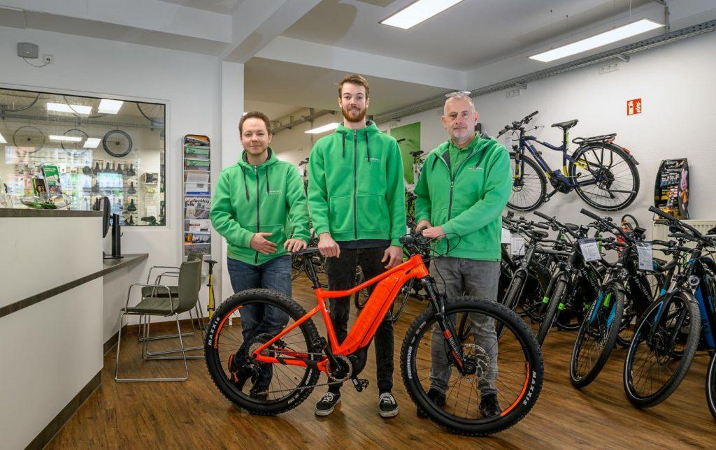 Deine e-Bike Experten der e-motion e-Bike Welt Bochum freuen sich auf deinen Besuch
