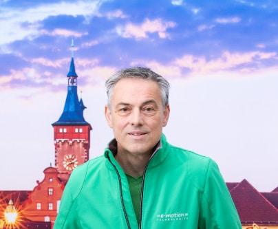 e-motion Mitarbeiter Wolfgang