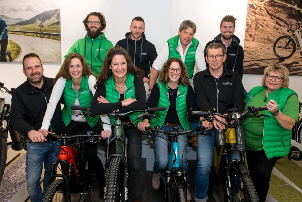 Das Team der e-motion e-Bike Welt Fuchstal