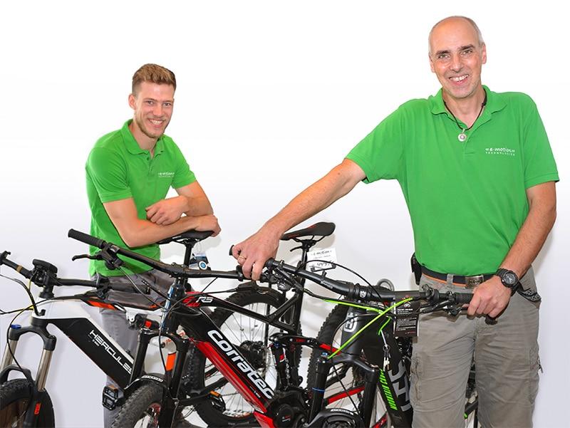 Das Team der e-motion e-Bike Welt Herdecke