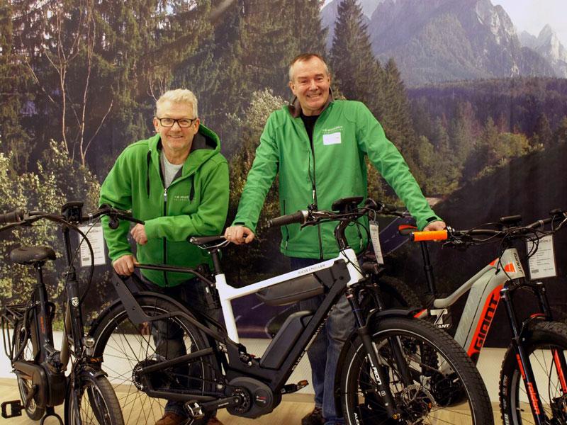 Das Team der e-motion e-Bike Welt Oberhausen