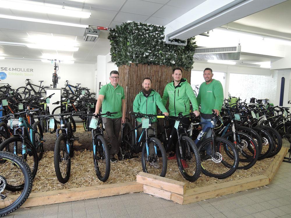 Deine Ansprechpartner vor Ort in der e-motion e-Bike Welt Stuttgart