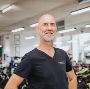 """• Fachrichtung Fahrrad- und Rehabilitationstechnik<br>• """"Ich brauche kein Auto, denn mein Riese & Müller Delite steht immer für mich bereit."""""""