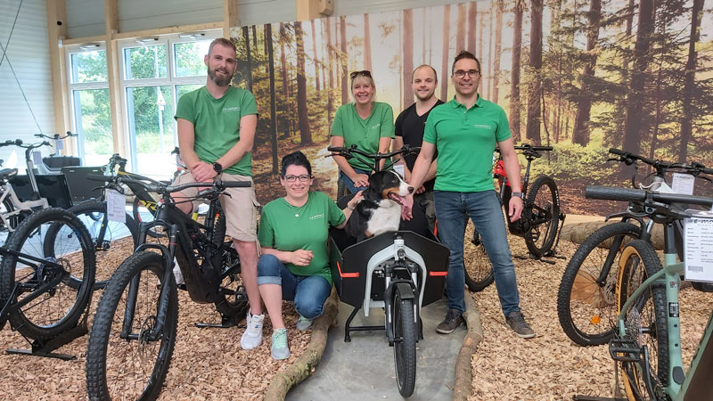 Dein e-Bike Experten Team in der e-motion e-Bike Welt Westhausen