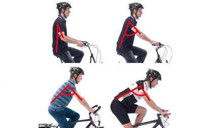 e-bike-richtige-körperhaltung