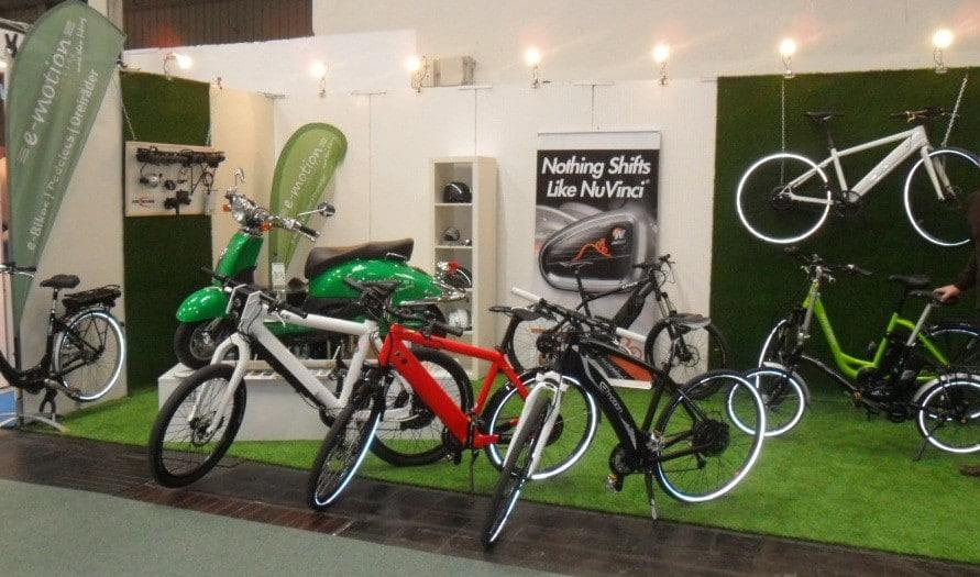 Die Ausstellung auf der ABF Freizeitmesse in Hannover
